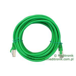 Patchcord FTP kat.6 dł.5m zielony