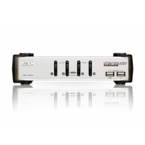 4-portowy przełącznik PS/2-USB VGA/Audio KVMP™