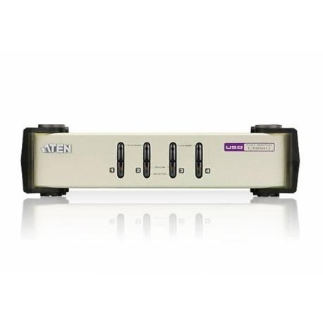 4-portowy przełącznik KVM PS/2-USB