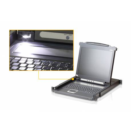 Wysuwana konsola LCD Slideaway™