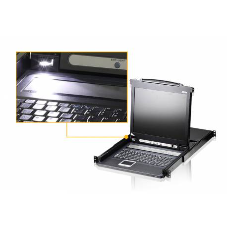 Wysuwana konsola KVM LCD Slideaway™