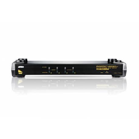 4-portowy przelacznik KVM PS/2-USB