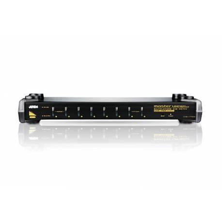 8-portowy przelacznik KVM PS/2-USB