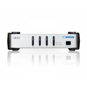 4-portowy przelacznik wideo DVI